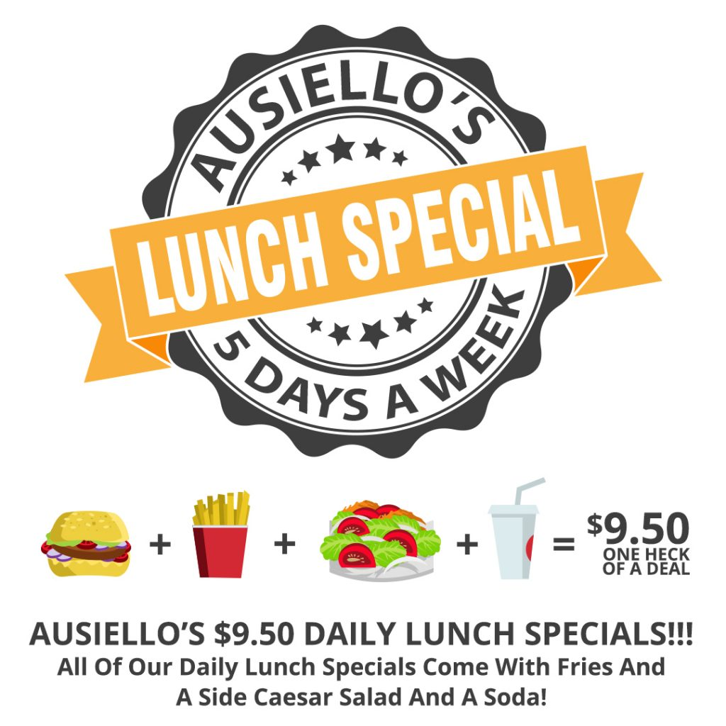 Ausiellos Bar Santa Rosa Lunch Special