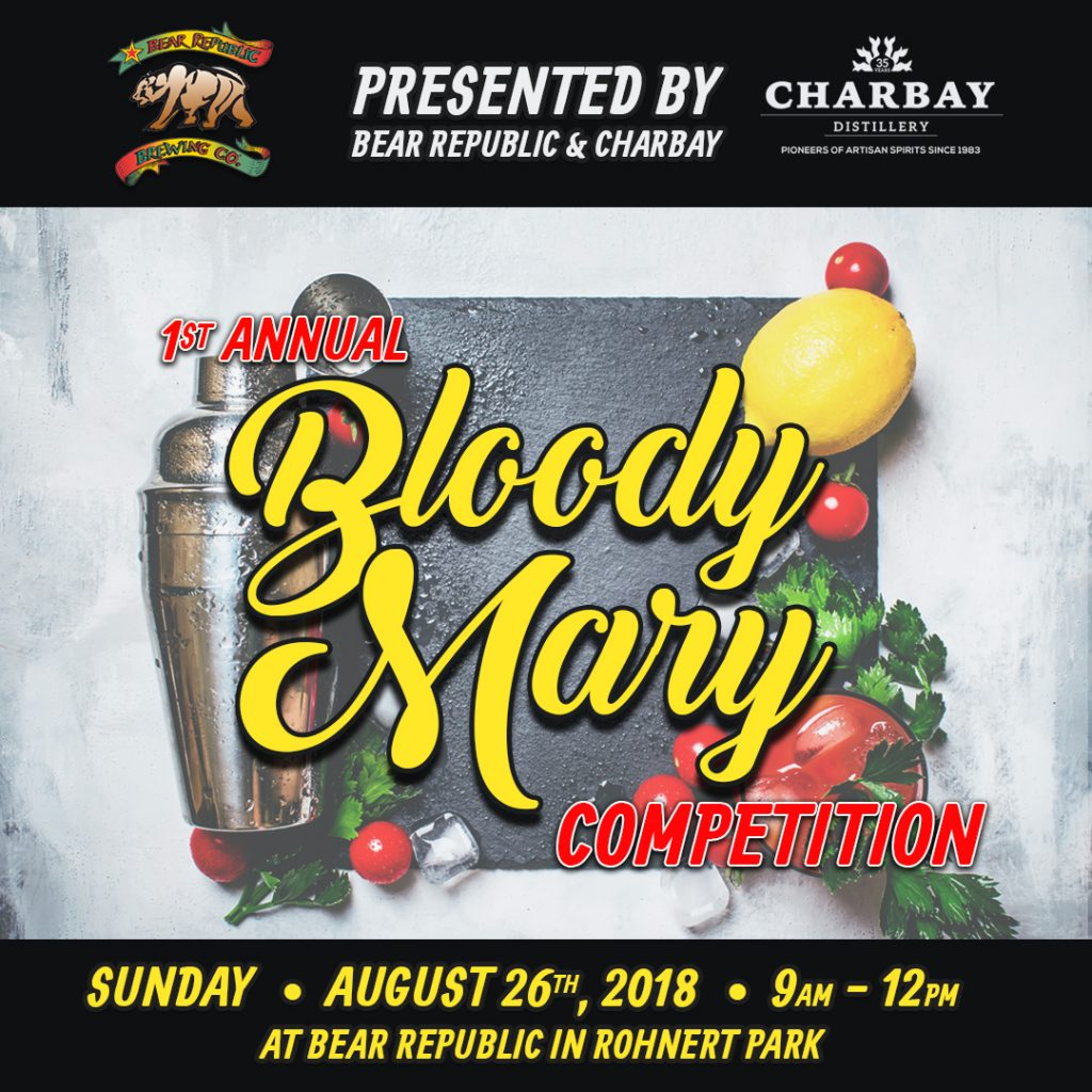 Bear Republic Bloody Mary Competition
