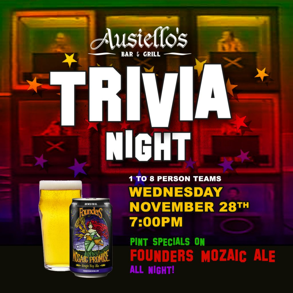 Founders Mosaic Trivia Night