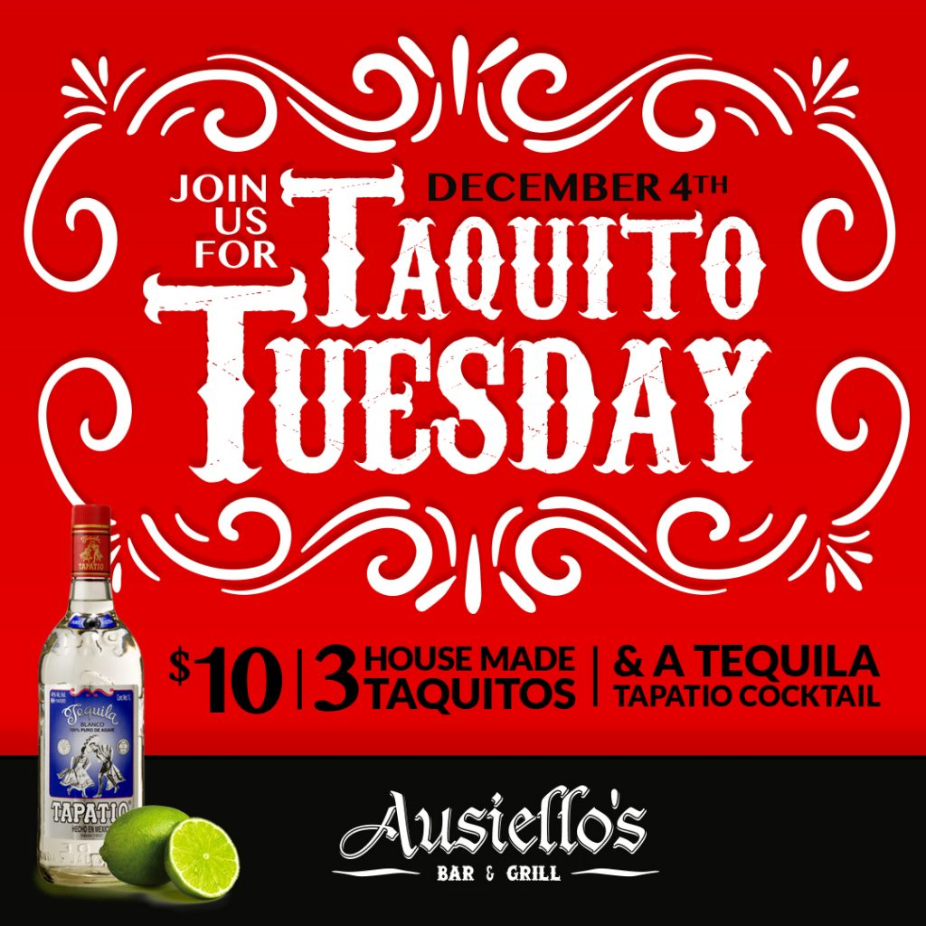 Ausiellos Taquito Tuesday