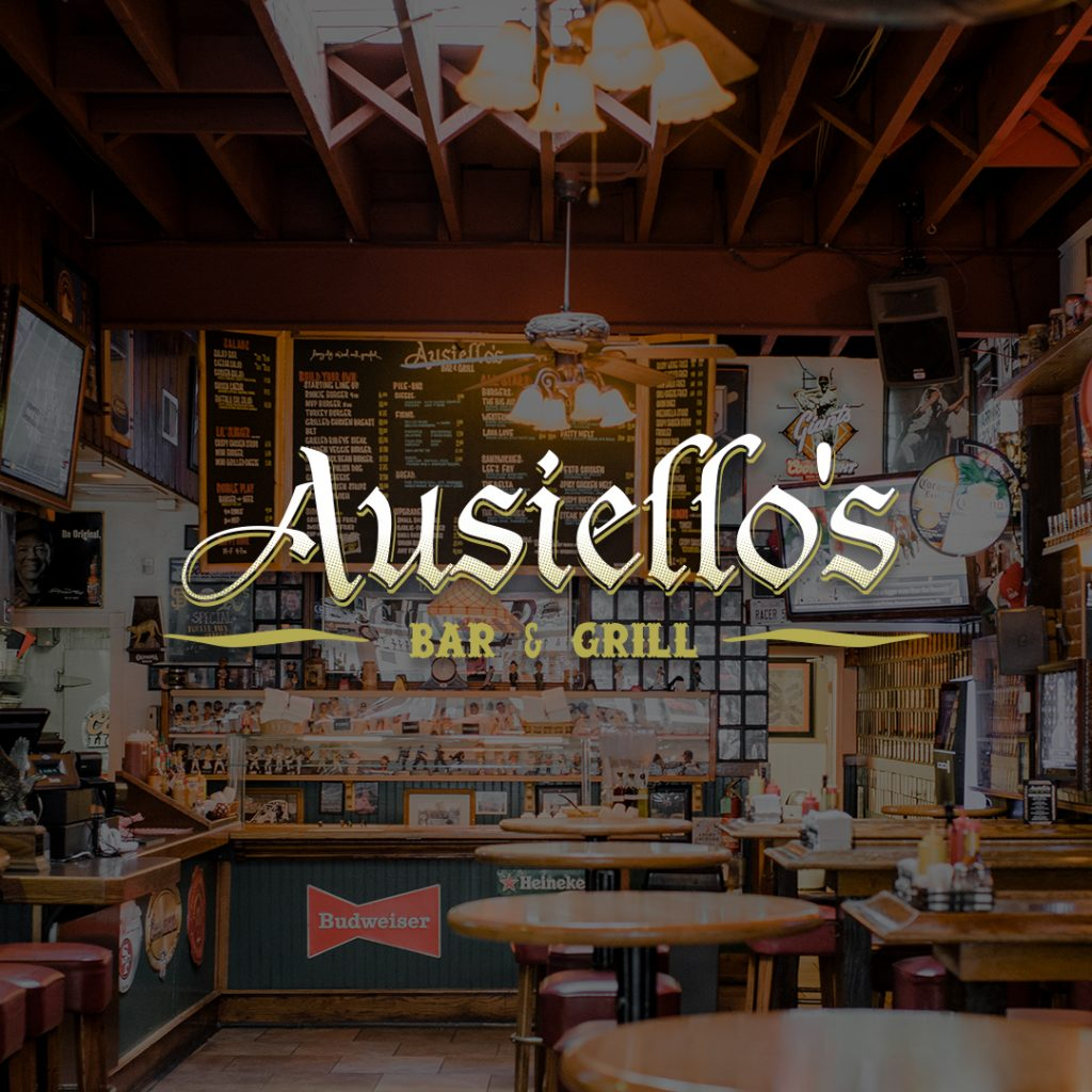 Ausiellos Bar and Grill Website Design and Development